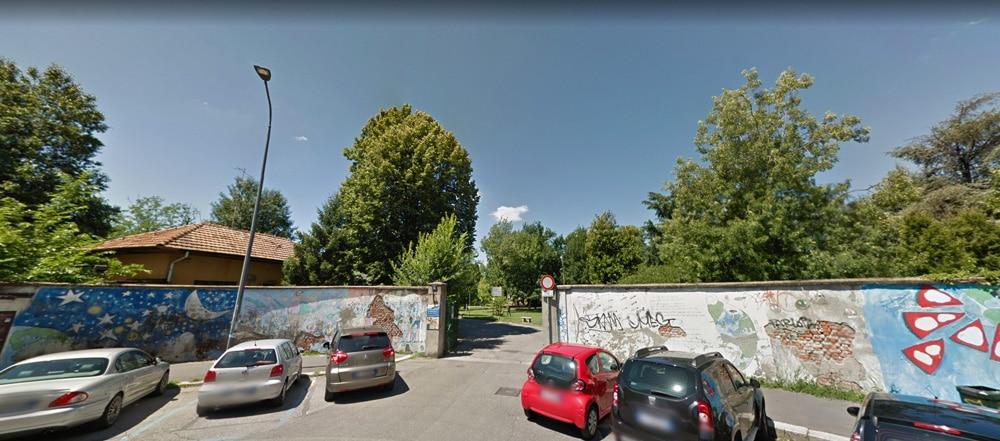 scuola primaria francesco crispi ingresso parco